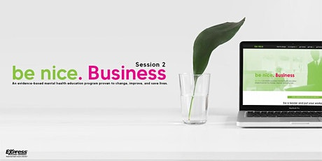 be nice. Business  Live Virtual Training tickets