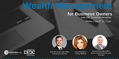Wealth Management for Business Owners tickets
