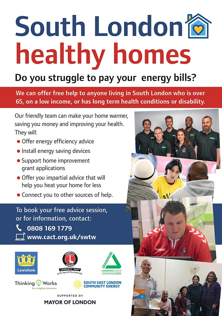 Energy Advice Presentation for Front Line Workers and Volunteers image