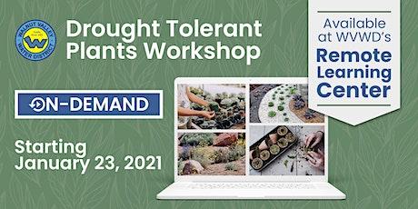 Drought Tolerant Plants Workshop tickets