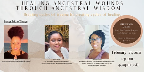 Healing Ancestral Trauma Through Ancestral Wisdom tickets