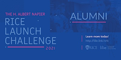 ALUMNI 2021 H. Albert Napier Rice Launch Challenge – Startup Competition