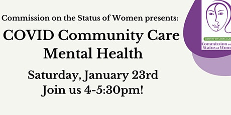 CSW Covid Community Care Virtual Event tickets