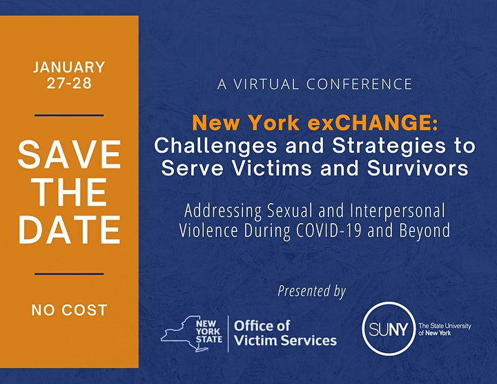 New York exCHANGE: Challenges and Strategies to Serve Victims and Survivors image