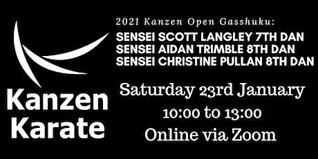 2021 Kanzen Open Gasshuku (Online) tickets