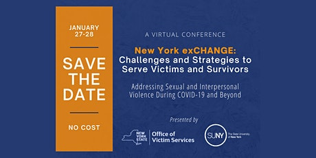 New York exCHANGE: Challenges and Strategies to Serve Victims and Survivors tickets
