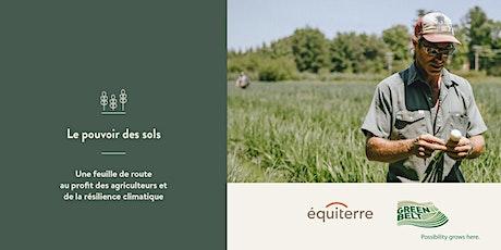 Atelier en ligne sur la santé des sols billets