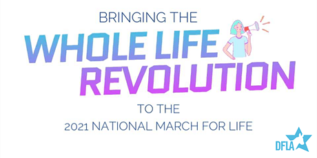 Democrats for Life at the 2021 March for Life tickets