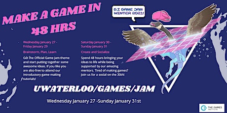 GI Game Jam (Winter 2021)! tickets