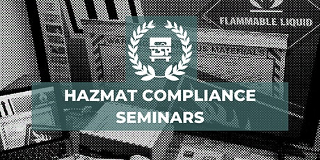 Pacific Time Zone  HazMat Compliance Seminars on 05/18 tickets