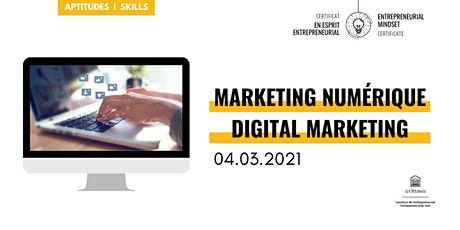 CEE: Marketing numérique | EMC: Digital Marketing billets