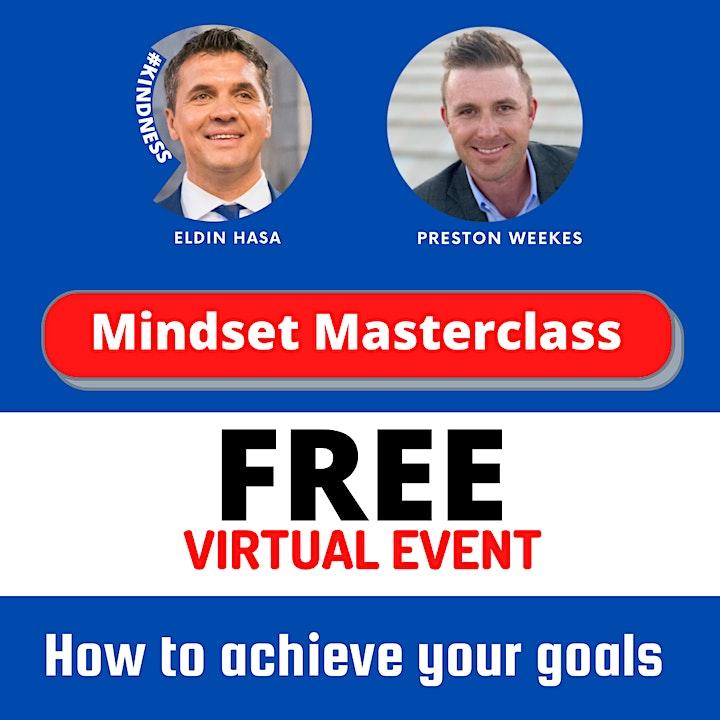 Mindset Masterclass w/ Preston Weekes & Eldin Hasa image