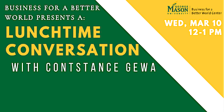Food System Inequalities with Constance Gewa, A Conversation tickets