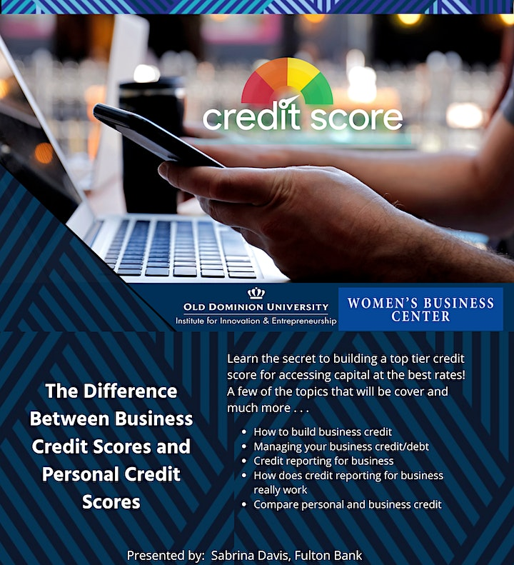 Finance Series: Difference Between Business  and Personal Credit Scores image