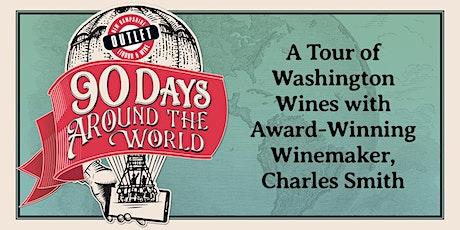 Tour of Washington Wines with Award-Winning Winemaker, Charles Smith tickets