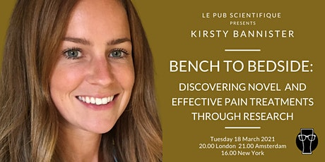 Bench to bedside: discovering novel & effective pain treatments tickets