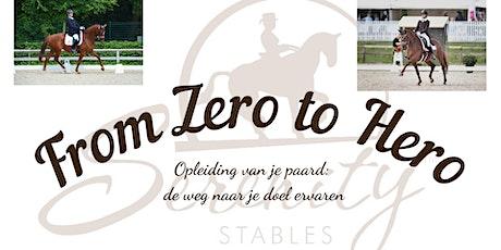 From Zero to Hero: de opleiding van je paard ervaren tickets