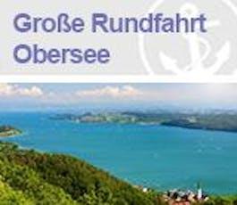 Große Rundfahrt Obersee Tickets
