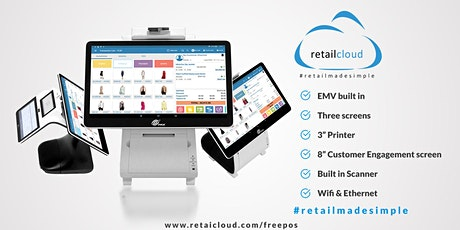 Zero POS;  Powerful easy to use PAX  Retail POS Solutions tickets