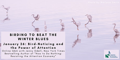 Bird-Noticing and the Power of Attention, Online Q&A with Jenny Odell tickets