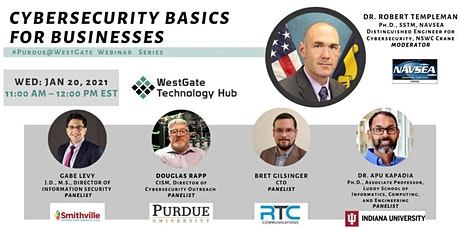 Cybersecurity Basics  for Businesses tickets