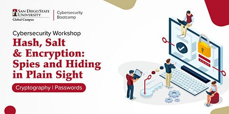 Hash, Salt and Encryption | Cybersecurity Workshop tickets