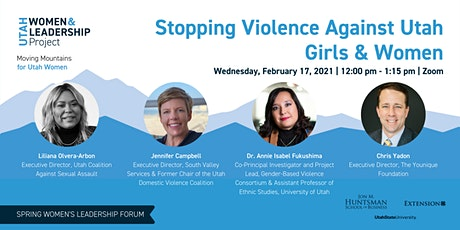 Stopping Violence Against Utah Girls & Women tickets