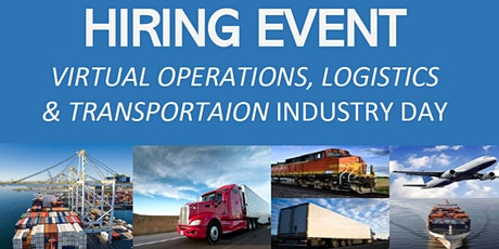 2021 Virtual Operations|Logistics|Transportation Industry Day tickets
