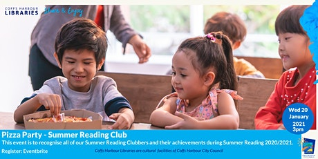 Pizza Party - Summer Reading Club tickets