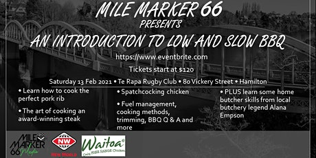 Mile Marker 66 Presents: An introduction to Low and Slow BBQ tickets