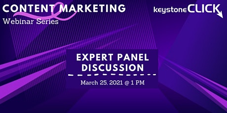Content Marketing Expert Panel Discussion tickets