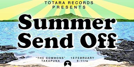Totara Records presents: Summer Send Off tickets
