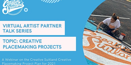 Virtual Artist Partner Talk: Creative Placemaking Projects 2021 tickets