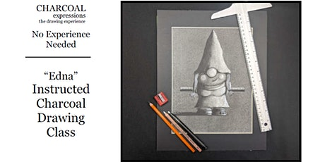 """Charcoal Drawing Event """"Edna"""" in Stevens Point tickets"""