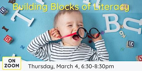 Online: Building Blocks of Literacy tickets