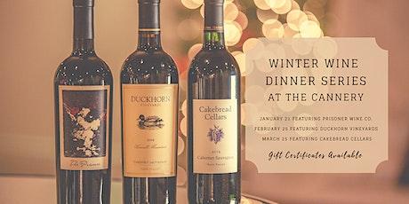 2021 Winter  Wine Dinner Trio tickets