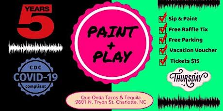 Thursdays: Paint & Play (University Area) tickets