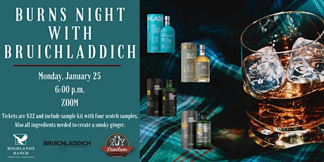 Burns Night with Bruichladdich tickets