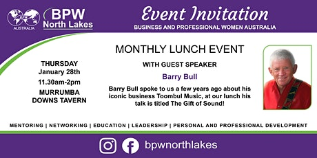 BPW North Lakes January Lunch tickets