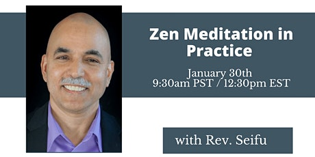 Zen Meditation in Practice tickets