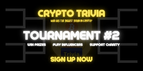 Crypto Trivia: Tournament #2 (Will Crypto's Biggest Brain Keep the Throne?) tickets
