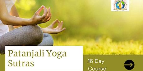 Understanding Patanjali Yoga Sutras tickets
