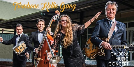 Trombone Kellie Gang supported by Shani Forrester - Music in the Park tickets