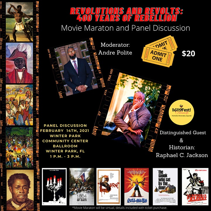 Celebrating Black History Month! The Second Annual 1619 Fest Orlando! image