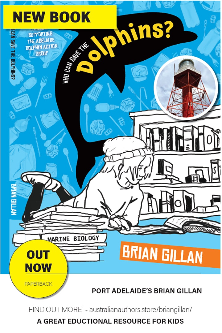 Book launch - Who can save the dolphins? image