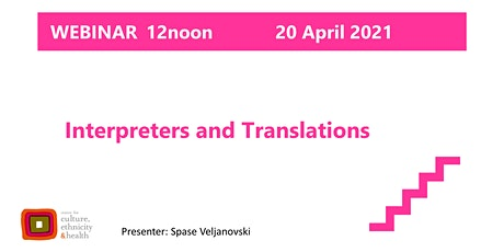Interpreters and Translations tickets