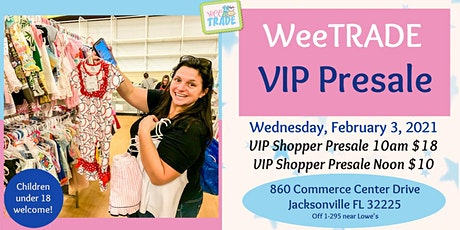 WeeTRADE VIP Shopper Presales - Wednesday, February 3, 2021 tickets