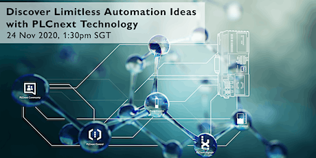 Discover Limitless Automation Ideas with PLCnext Technology tickets