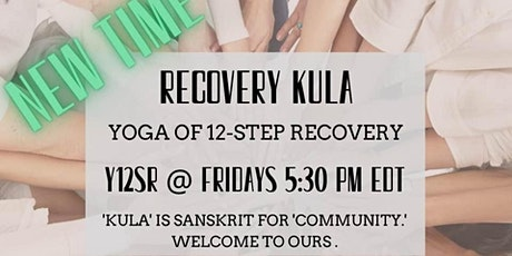 Yoga of 12-Step Recovery - Online tickets
