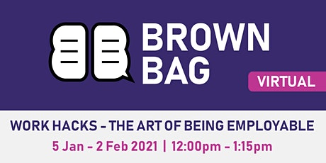 Brown Bag: Understanding Personality Preferences tickets